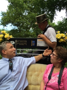 Carriage Horse Driver Stephen Malone takes us for a tour of Central Park