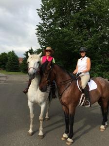 Oz & Bea plot their ride