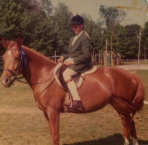 Blue Ribbon Pleasure Pony Gingersnap at Camp MacCready
