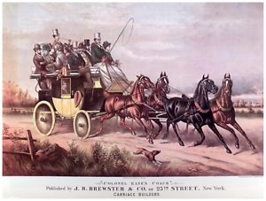 Brewster Carriages, built in the 19th Century, were the finest in the world