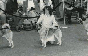 Handling Roxanne at Westminster 1988